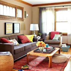 Image Result For Yellow Teal Red Grey Best Living Room Design, Living Room  Colors,