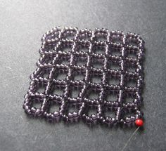 Square Openwork Right Angle Weave