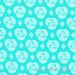 Rashida Coleman-Hale Tsuru Old Lace Cerulean [C9F-Tsuru-OldLaceCerulean] - $12.45 : Pink Chalk Fabrics is your online source for modern quilting cottons and sewing patterns., Cloth, Pattern + Tool for Modern Sewists