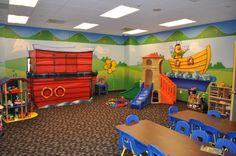 Nursery & Classroom Layout, Design & Decorating