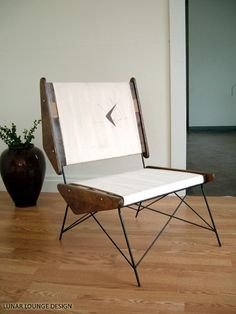 ARCH  Accent chair Mid Century Modern Eames by lunarloungedesign, $450.00