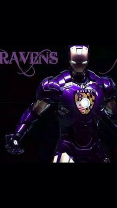 RAVENS IRON MAN............