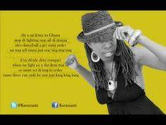 Karamanti – Letter 2 Ghana (Lyrics Video)