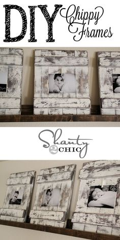DIY photo frame to keep your memories close and to love Simpl . - Do it yourself - DIY photo frame to keep your memories close and to love Simpl … - Diy Photo, Cadre Photo Diy, Marco Diy, Palette Deco, Wood Crafts, Diy Crafts, Creative Crafts, Decor Crafts, Diy Home Decor Rustic