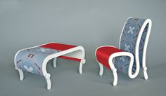 The Transformation Table and Chair | michael jantzen | Archinect