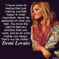 --Demi Lovato