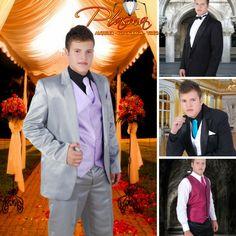 Tenemos los mejores trajes para caballeros para que los uses en tus eventos!!!! plasma esta super de moda. .