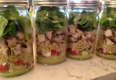How to Make Portable Meals with Mason Jars