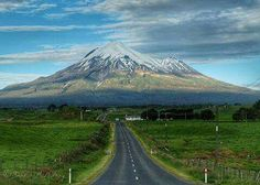 All the roads lead to Mt Taranaki - By Dana McMurray