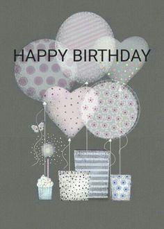 Happy Birthday - custom edit by lechezz Happy Birthday Notes, Happy Birthday Wishes Cards, Birthday Blessings, Birthday Wishes Quotes, Happy Birthday Pictures, Happy Wishes, Bday Cards, Birthday Greeting Cards, Birthday Fun
