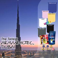 Apakah Kawan EMCO pernah mengunjungi Timur Tengah? Dubai, sebuah kota Timur Tengah yang terkenal dengan keindahan dan kemewahannya, ternyata juga memiliki daya tarik dengan hotel yang mewah milik Giorgio Armani.