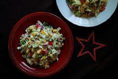 gotować! - Sałatka Agnieszki (Mama uczy gotować!) Grains, Rice, Food, Essen, Meals, Seeds, Yemek, Laughter, Jim Rice