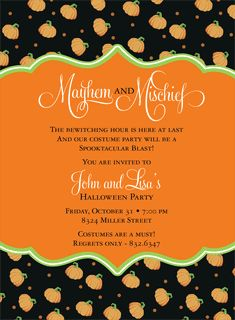 Book Plate Pumpkins Halloween Invitations by Noteworthy Collections - Invitation Box