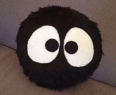 Susuwatari Totoro pillow  by WeezLovesYou on Etsy