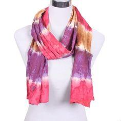 Kathmandu Imports tie dye| Cotton Batik Scarf