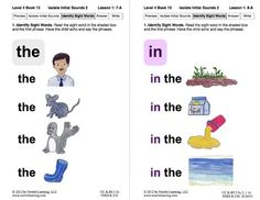 Isolate Initial Sounds 2: Lesson 1, Book 13 (Newitt Decoding Series)