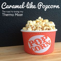 Ok so it isn' t a traditional caramel popcorn but my kiddies love it none the less and its a nice change from plain popcorn or the Cheesy Popcorn I sometimes ma