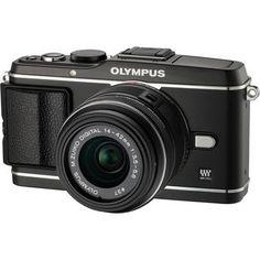 Olympus E-P3 PEN Digital Camera with 14-42mm Lens (Black) $899
