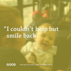 From an inspiring story about #joy shared on Infinite Good.