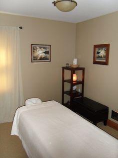 My treatment room @ Selah Massage & Bodywork.