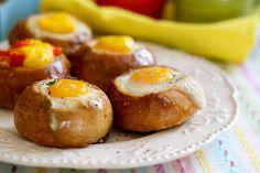 Customizable Bread Bowl Breakfast | Tasty Kitchen Blog