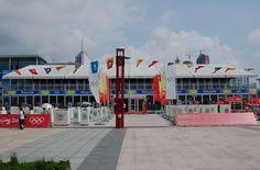Doppelstock Veranstaltungszelt mit Satteldach -  VIP IOC Olympia #Sportevent #Großzelt #Eventzelte Olympia, Fair Grounds, Fun, Travel, Gable Roof, Outdoor Camping, Viajes, Destinations, Traveling