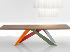 Mesa retangular BIG TABLE by Bonaldo design Alain Gilles