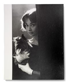 LOVE IN THE AFTERNOON, 1957 SAM SHAW (1912-1999) Audrey Hepburn and Mr. Famous on the set of the 1957 Allied Artists production Love in the Afternoon, Paris, 1957