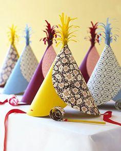 #DIY Party Hats
