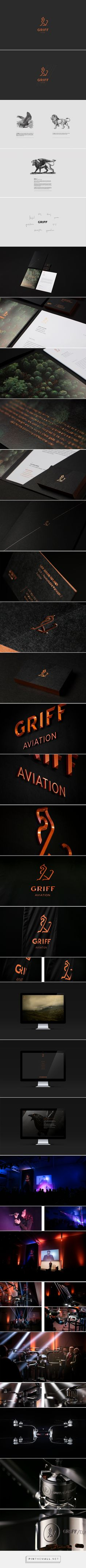 GRIFF AVIATION - Corporate Identity / Branding on Behance