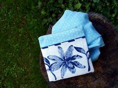 modra taštička + šálka