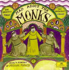 1994 Mad About The Monks [Deutsche Grammophon 445767-2] cover illustrations: Roz Chast #albumcover