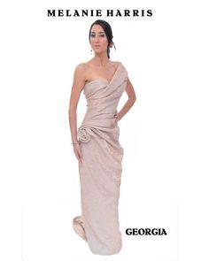 Georgia Light Side, Lighter, One Shoulder Wedding Dress, Georgia, Wedding Dresses, Fashion, Bride Dresses, Moda, Bridal Gowns