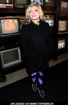 Debbie Harry at Stephen Sprouse Tribute Hosted by Louis Vuitton at the Bowery Ballroom in New York on January 8, 2009