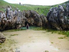 ...Y una playa encerrada tierra adentro en Asturias (Cobijeru) - 101 Lugares increíbles 101 Lugares increíbles