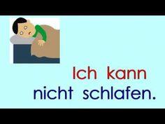 Deutsch lernen Grammatik 6: ich kann ... - YouTube Reflexive Verben, Germany Language, German Grammar, Learn German, Language Arts, Languages, Vocabulary, Youtube, It Cast