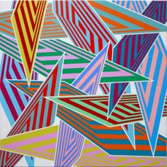 Sara Hughes Data Crash Courtesy Plus Gallery Abstract Pattern, Abstract Art, Painting Patterns, Op Art, Geometry, Markers, Pattern Design, Gallery, Drawings