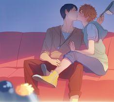 。kiss2。 | Kasion [pixiv]
