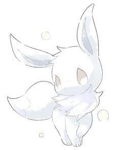 Pokémon Files - Burn Book - Eevee is a kind of Pokémon on Nintendo and in the Pokémon franchise of Game Freak. Created by Ken - Gif Pokemon, Pokemon Fusion, Pokemon Eeveelutions, Pokemon Fan Art, Cute Kawaii Animals, Cute Animal Drawings Kawaii, Kawaii Drawings, Cute Drawings, Arte Do Kawaii