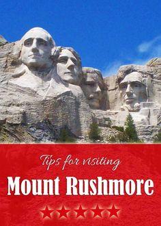 Tips for visiting Mount Rushmore with a family | tipsforfamilytrips.com #SouthDakota #BlackHills