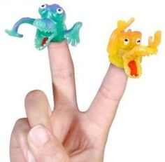 Monster Finger Fright party bag toy These grisly little Monster Finger Frights make a ghastly and ghoulish addition to children's party bags or make an ideal Childrens Party Bags, Party Bag Toys, Puppet Toys, Monster Toys, Party Themes For Boys, Little Monsters, More Fun, Halloween Party, Party Supplies