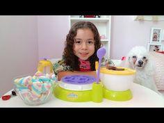 Alice fazendo biscoitos com a batedeira - YouTube