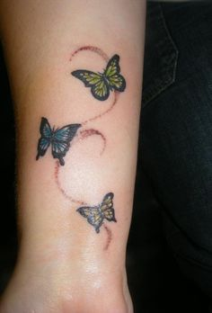 Small Butterfly Tattoos | Tattoo Small Butterfly - LiLz.eu - Tattoo DE
