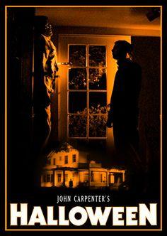 Michael Myers - Art by Halloween Film, Halloween Series, Halloween Poster, Halloween Horror, Horror Movie Posters, Horror Films, Film Posters, Scary Movies, Good Movies