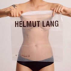 helmut lang campaign Dorthes present and artistic ideas for Jerten. Helmut Lang, Fashion Advertising, Advertising Campaign, Louise Bourgeois, Fashion Brand, High Fashion, Fashion Design, Urban Fashion, Editorial Photography