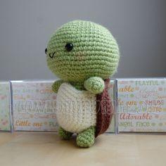 Tortuga de crochet