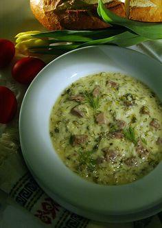 Mayeritsa Greek Easter Soup