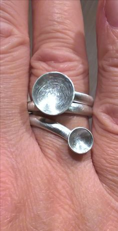 Ring Silber handcrafted