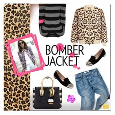 """""""Winter Style: Bomber Jackets"""" by e-mina-87 ❤ liked on Polyvore featuring Givenchy, MCM, 360 Sweater, Miu Miu, women's clothing, women, female, woman, misses and juniors"""