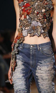 Alexander McQueen SS2016 Women's Fashion RTW   Purely Inspiration